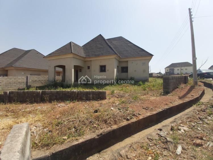 Well Located Uncompleted 4 Bedroom Bungalow in an Estate, Galadimawa, Abuja, Detached Bungalow for Sale