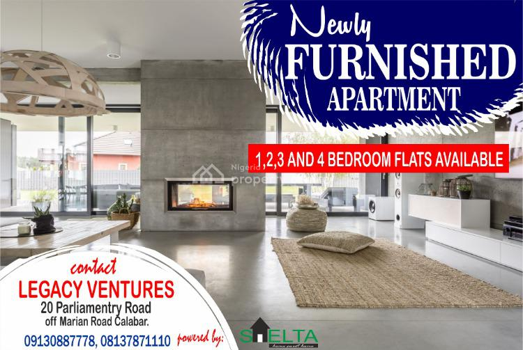 Furnished 3 Bedroom Flat, Marian Road, Calabar, Cross River, Flat for Rent
