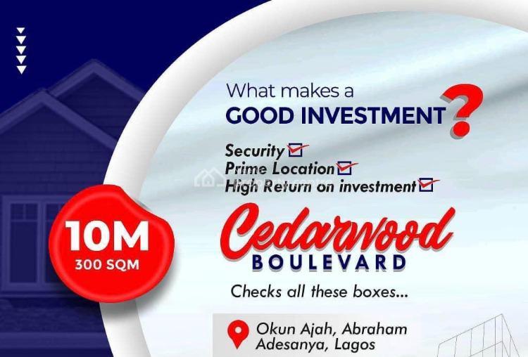Estate Land, Few Minutes From Abraham Adesanya Roundabout, Okun-ajah, Ajah, Lagos, Residential Land for Sale