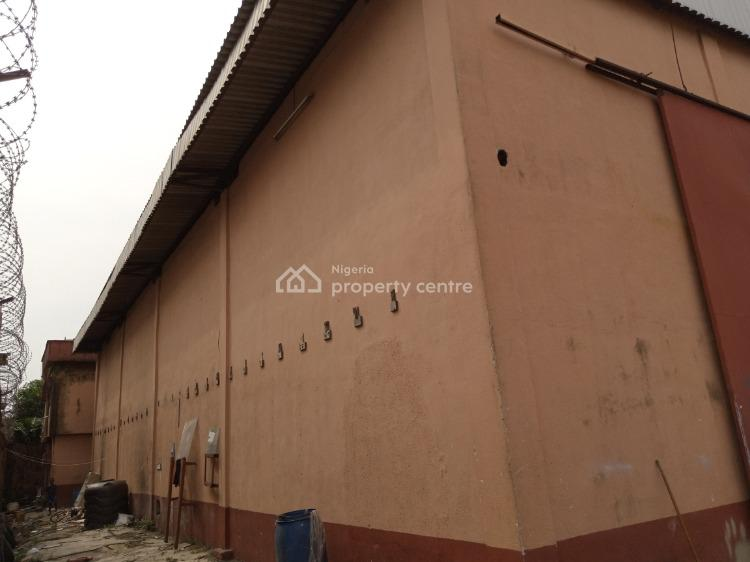 330 Sqm Warehouse on Full Plot, Detached Admin Block, Great Height, Ajao Estate, Isolo, Lagos, Warehouse for Sale