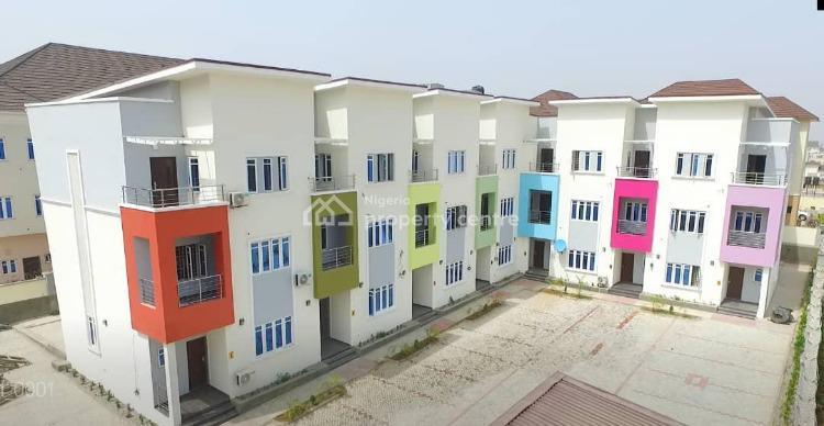Luxury 4 Bedroom Flat with a Room Bq, Guzape District, Abuja, Terraced Duplex for Sale