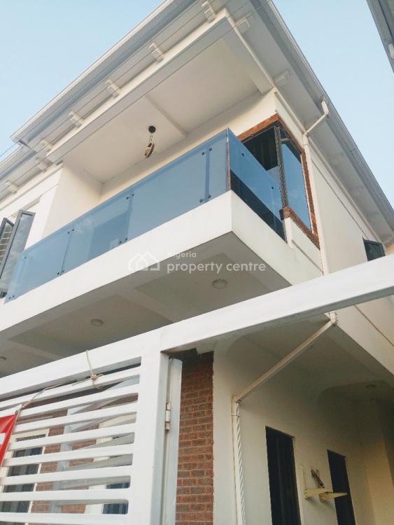 Exquisite 4 Bedroom Fully Detached with Bq, Agungi, Lekki, Lagos, Detached Duplex for Rent