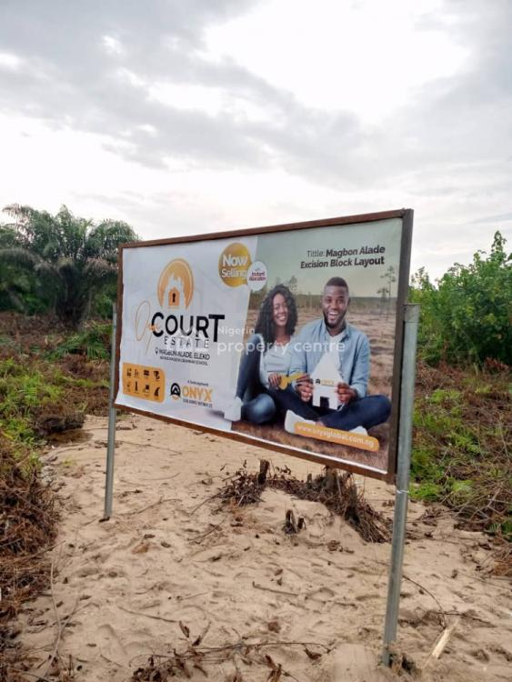 Safe Approved Government Title Centralized Estate in The Bestlocation, Magbon Alade, Eleko Behind Magbon Grammer School, Eleko, Ibeju Lekki, Lagos, Residential Land for Sale