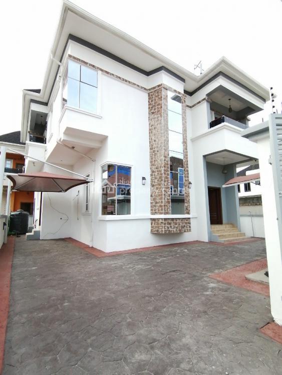 4 Bedroom Fully Detached Duplex with Bq, Osapa, Lekki, Lagos, Detached Duplex for Sale