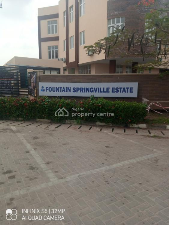 450sqms of Land in a Secured Estate, Close 3, Fountain Spring Estate By Novare Shoprite Fountain Spring Estate, Sangotedo, Ajah, Lagos, Residential Land for Sale