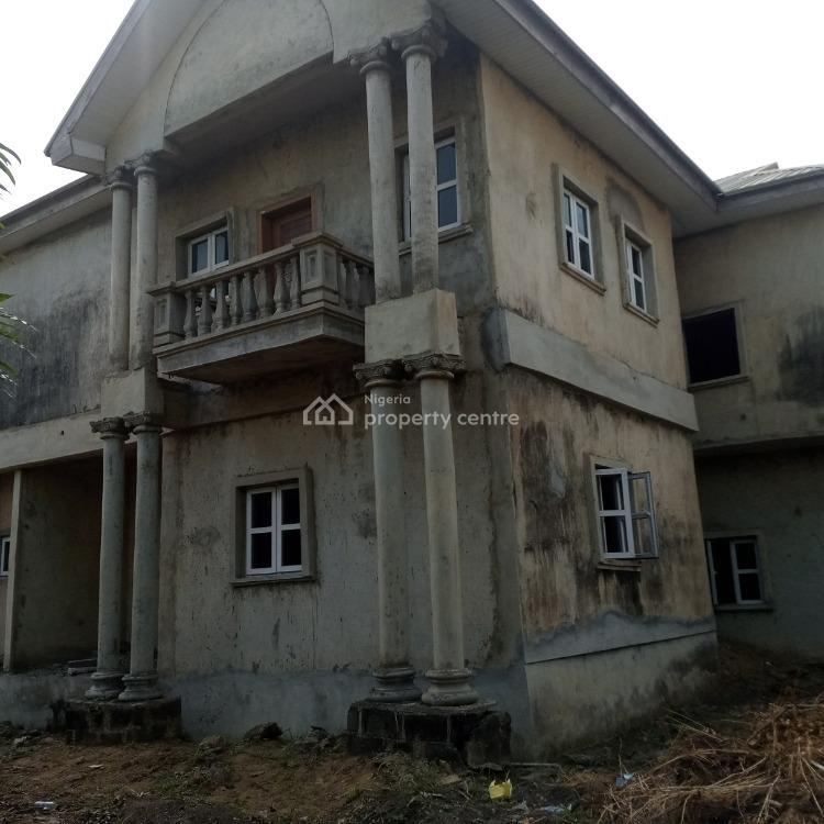 5 Bedroom Detached Duplex (carcass) with a Room Bq, Eleganza Gardens, Opposite Vgc, Lekki Expressway, Lekki, Lagos, Detached Duplex for Sale