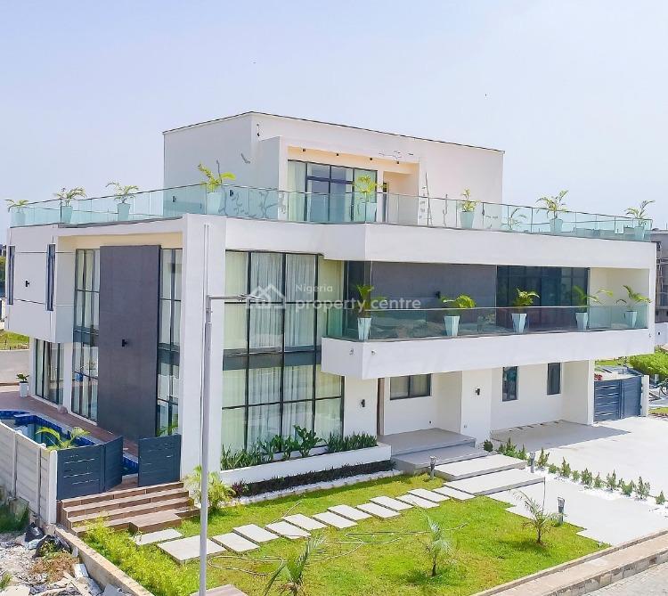 Newly Built Massive 6 Bedrooms Mansion, Shoreline Estate, Banana Island, Ikoyi, Lagos, Detached Duplex for Sale