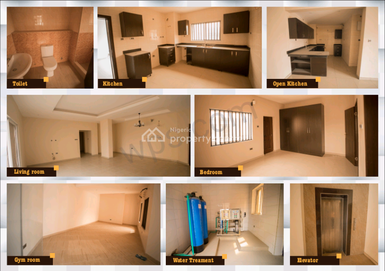 Luxury 3 Bedrooms, 2 Bedrooms and 1 Bedroom Structure, Osapa, Lekki, Lagos, Block of Flats for Sale