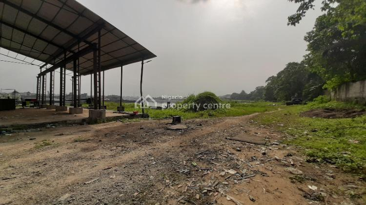 Jetty on 26,000 Sqms of Water Front Land, Trans Woji Road, Trans Amadi, Port Harcourt, Rivers, Commercial Property for Sale