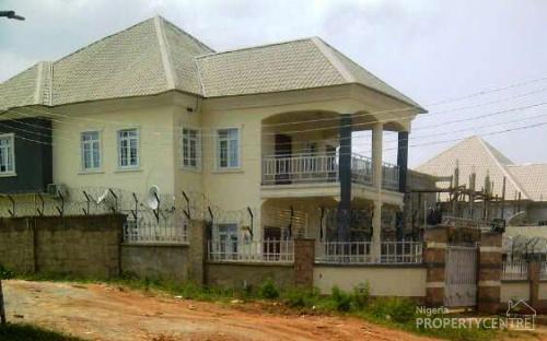 Bedroom Detached Duplex In Gwarinpa, Gwarinpa, Abuja, 4 Bedroom ...