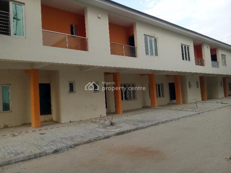 3 Bedroom Terrace Duplex, Carcass, Payment Plan, Third Round Abount, Lekki Phase 1, Lekki, Lagos, Terraced Duplex for Sale