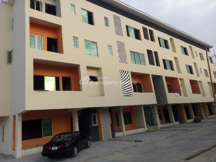 3 Bedroom Flat, Carcass, Payment Plan, Third Round About, Lekki Phase 1, Lekki, Lagos, Block of Flats for Sale