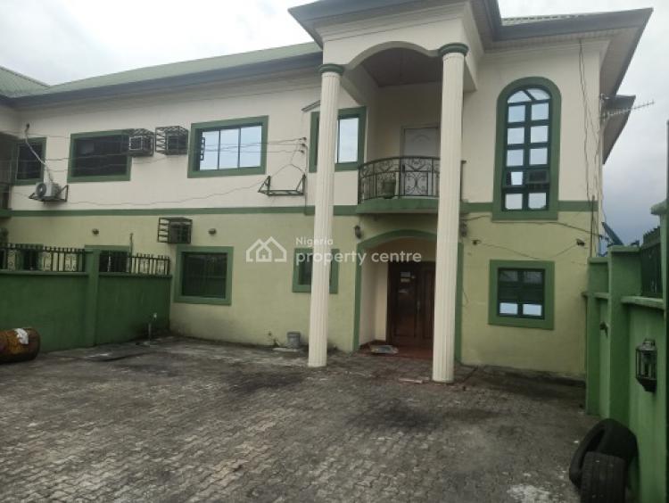4 Detached Wing of Duplex with 1 Room Boys Quarters, Christmas Village Close, Eagle Island, Port Harcourt, Rivers, Semi-detached Duplex for Rent