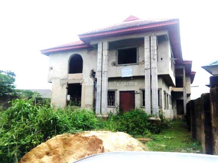 Block of Uncompleted Flat, Along Udo Abitu Street, Akpasak Estate, Uyo, Akwa Ibom, Block of Flats for Sale