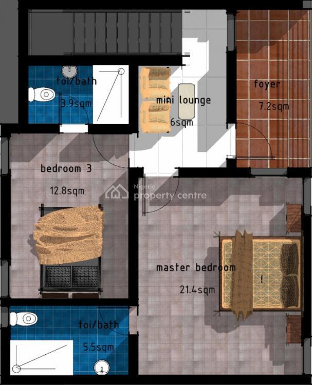 Luxury 4 Bedroom Terrace Duplex, Ogudu, Lagos, Terraced Duplex for Sale