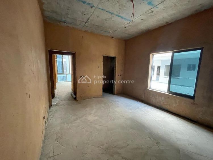 Tastefully Built 4 Bedroom Maisonette (carcass), Ikate, Lekki, Lagos, House for Sale