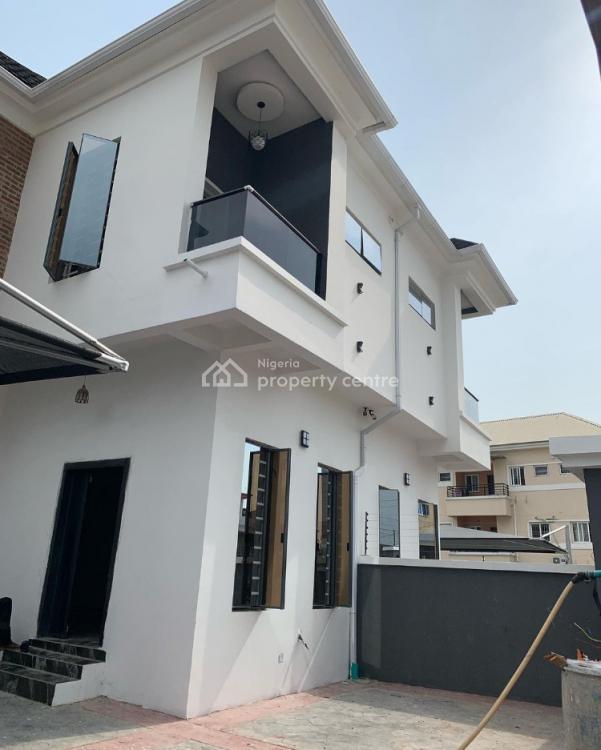 Spacious 4 Bedroom Semi Detached Duplex with Bq;, Chevron, Lekki, Lagos, Semi-detached Duplex for Sale