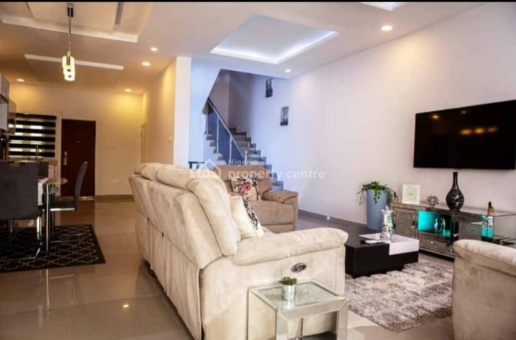 Own a Three Bed Duplex and Bq, General Paint Bus Stop, Ajah, Lagos, Detached Duplex for Sale