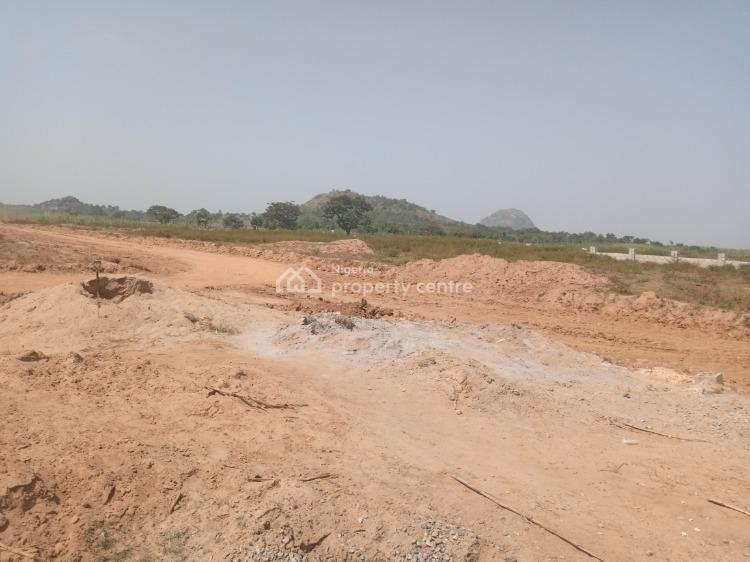 2 Serial Plots Facing The Tarred Road, Aviation Village, Along Airport Road, Goza, Lugbe District, Abuja, Residential Land for Sale