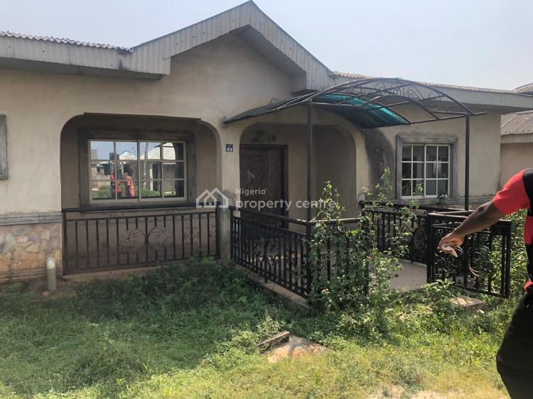 a 4 Bedroom Bungalow on a Large Space, Gberigbe, Ikorodu, Lagos, Detached Bungalow for Sale