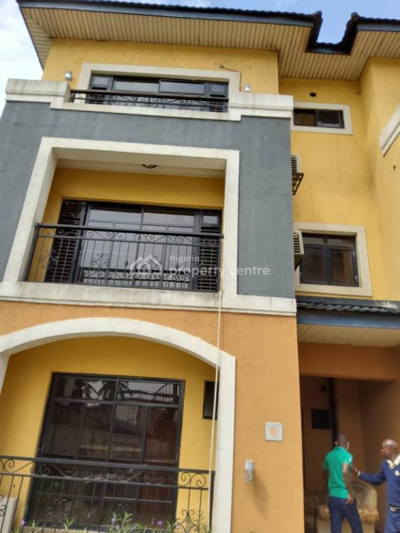 4 Bedroom Service Apartment, Gra Area, Ikeja, Lagos, Terraced Duplex for Rent
