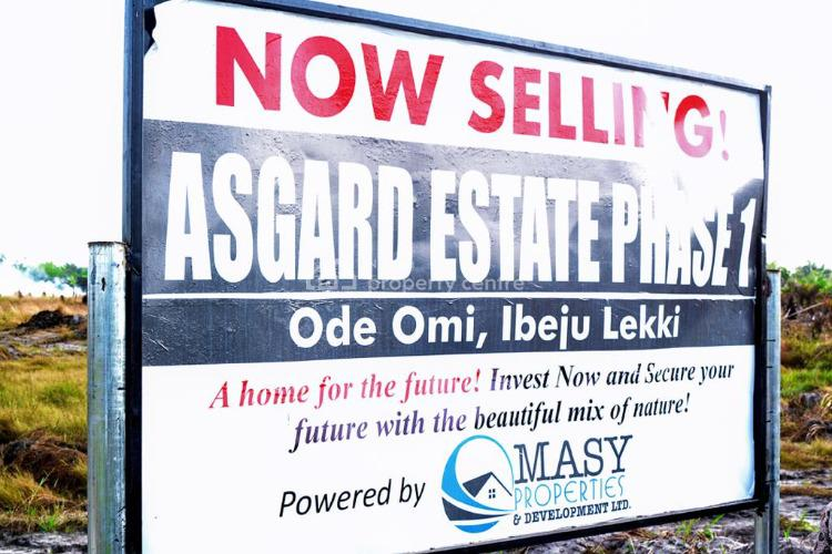 New Year Promo - Best Affordable Land Right Now, Asgard Estate, Ode Omi, La Champagne Tropicana, Ode Omi, Ibeju Lekki, Lagos, Mixed-use Land for Sale