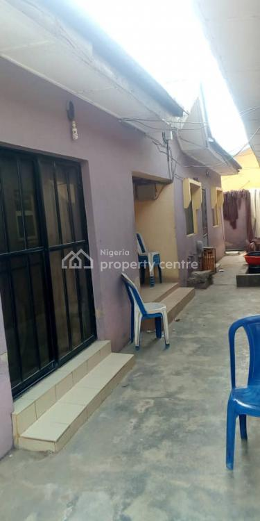 Standard 4 Bedroom Bungalow with 4 Shop on a Plot, Gowon Estate, Egbeda, Alimosho, Lagos, Detached Bungalow for Sale