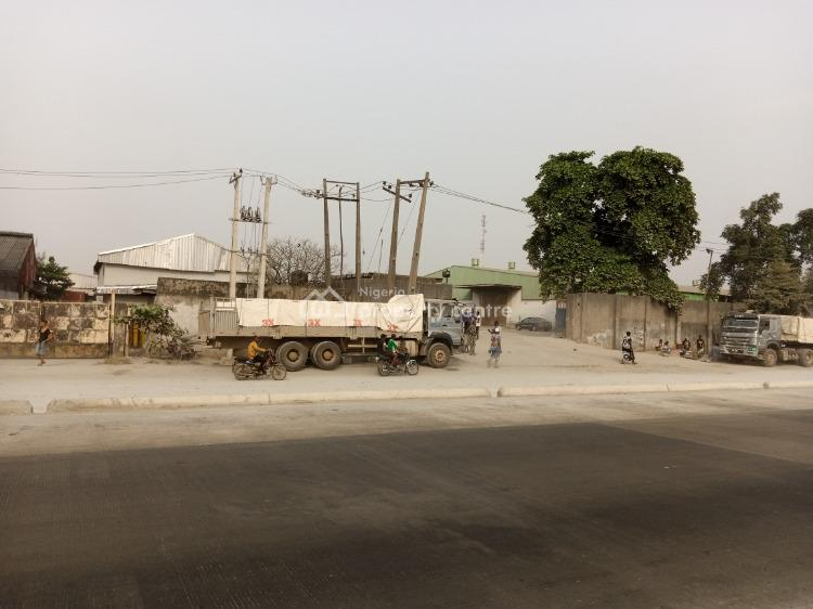 38,000sqft Large Warehouses on 9 Plots of Land Facing Express, C of O, Oshodi Apapa Express Way, Cele, Isolo, Lagos, Warehouse for Sale