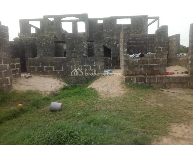 Uncompleted Building, Atlantis Estates, Sangotedo, Ajah, Lagos, Detached Duplex for Sale
