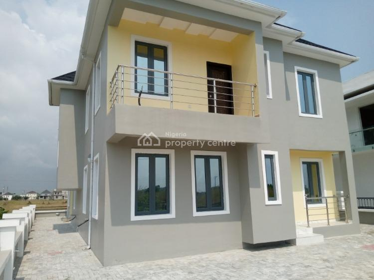 Luxury 5 Bedroom Fully Detached Duplex, Adiva Estate Behind Beechwood Estate, Imalete Alafia, Ibeju Lekki, Lagos, Detached Duplex for Sale