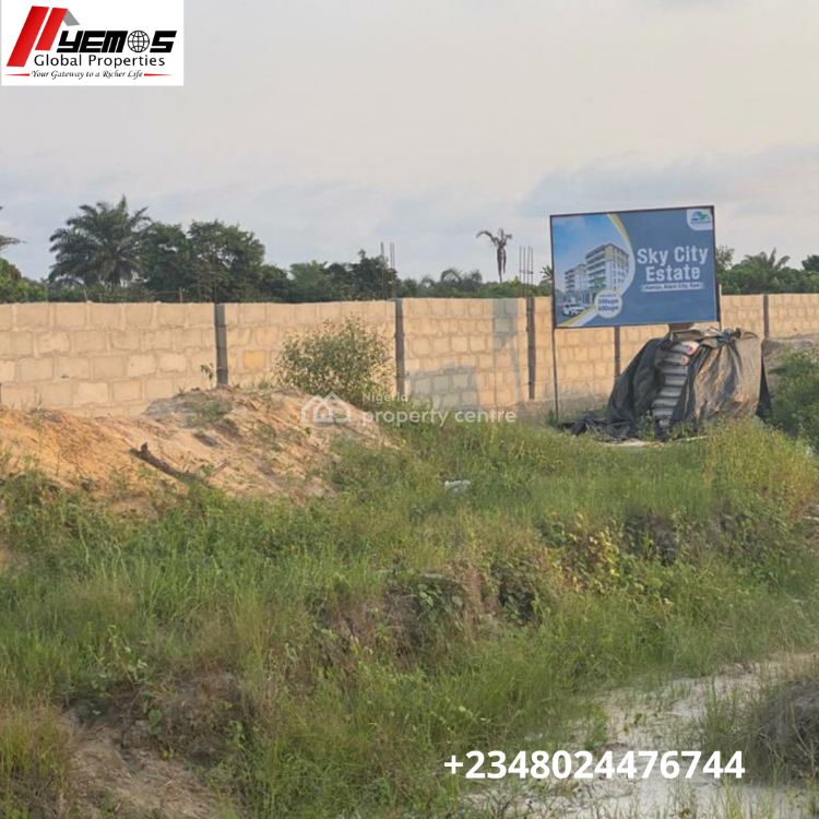 Land, 2 Mins Drive Before Alaro City 1min Drive From Express Sky City Estate, Ilamija, Ibeju Lekki, Lagos, Mixed-use Land for Sale