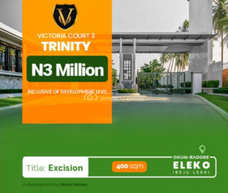 Land with an Approved Excision Title. Lets Show You The Promised Land, Eleko, Ibeju Lekki, Lagos, Land for Sale
