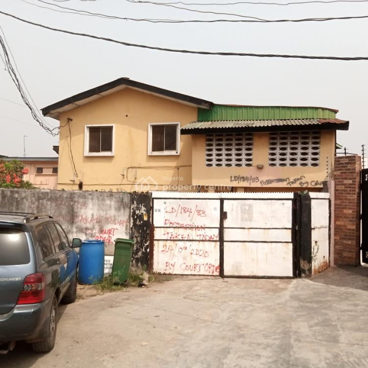 a 5 Bedroom Detached House Plus 2 Nos 2 Bedroom Flat, Off Ogunlana Drive, Surulere, Lagos, Detached Duplex for Sale