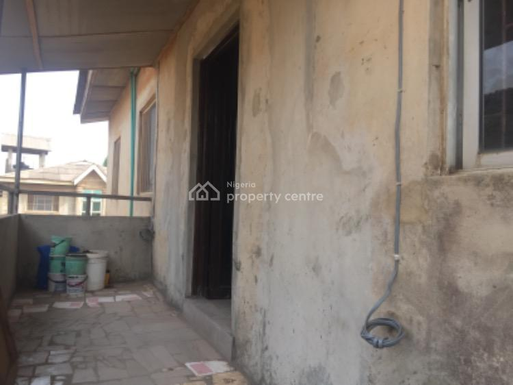 Upstairs 2 Bedroom Flat, Salako Obawole, Ogba, Ikeja, Lagos, Flat for Rent