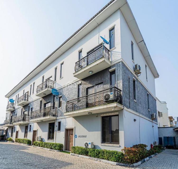 4 Bedroom Terrace Duplexes, Lekki Phase 1, Lekki, Lagos, Terraced Duplex for Sale