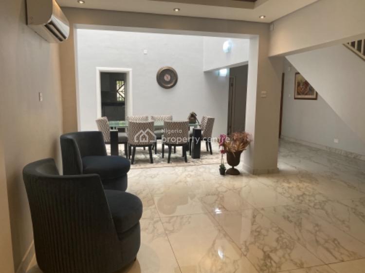 Furnished Luxury 4 Bedroom Townhouse, Gerald/alexander Road, Ikoyi, Lagos, Terraced Duplex for Rent
