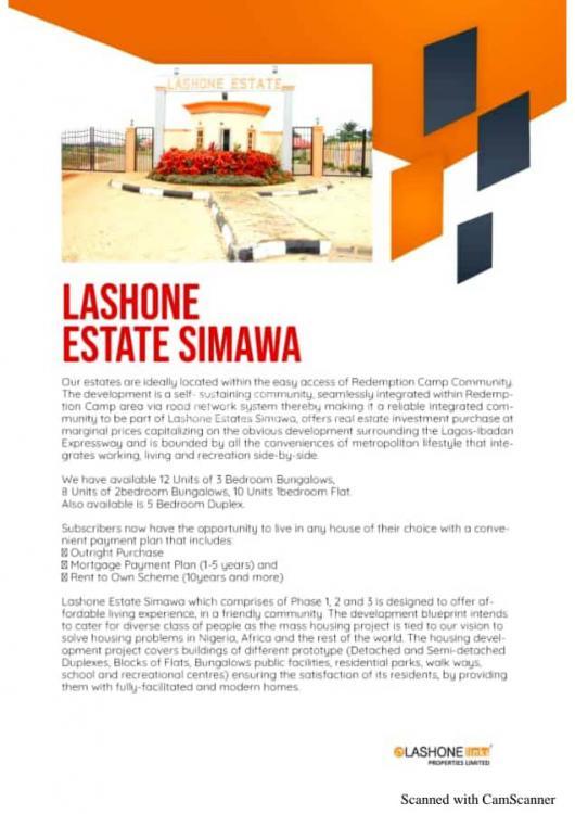 Registered Survey, Behind Redemption Camp, Simawa, Ogun, Residential Land for Sale