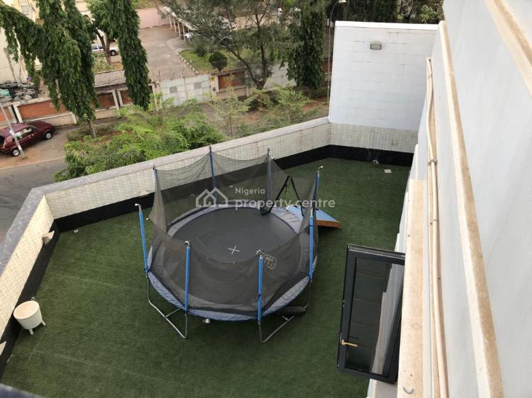 9 Bedroom Mansion with Pool, Elevator & Rooftop Tennis Court, Main Maitama, Maitama District, Abuja, Detached Duplex for Sale
