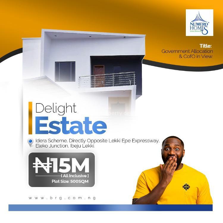 Delight Estate, Eleko, Ibeju Lekki, Lagos, Mixed-use Land for Sale