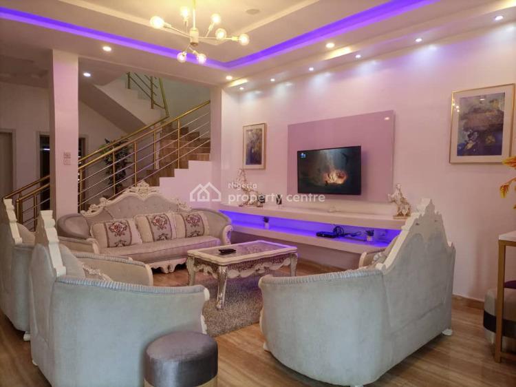 Magnificent 4 Bedroom Duplex, Razaq Eletu Street., Osapa, Lekki, Lagos, Semi-detached Duplex Short Let