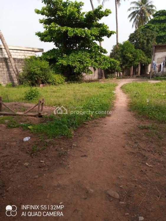Bare Land, Before  Mobil Filling Station Airport Road, Mafoluku, Oshodi, Lagos, Commercial Land for Sale