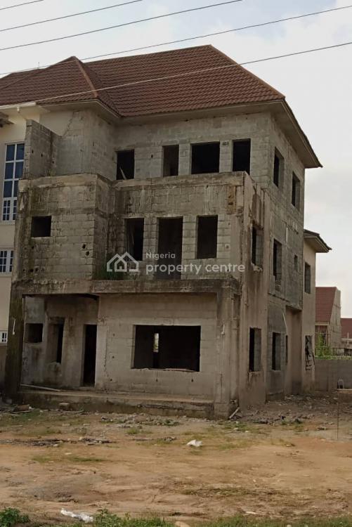 4 Bedroom Semi Detached Duplex Carcas with a Room Bq, Lokogoma District, Abuja, Semi-detached Duplex for Sale