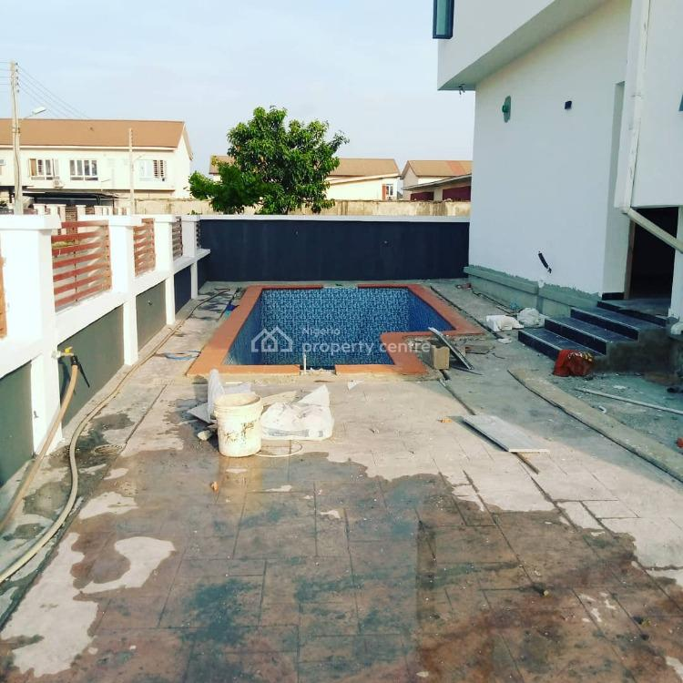 5 Bedroom Detached Duplex with Bq, By 2nd Toll Gets, Lekki Phase 2, Lekki, Lagos, Detached Duplex for Sale