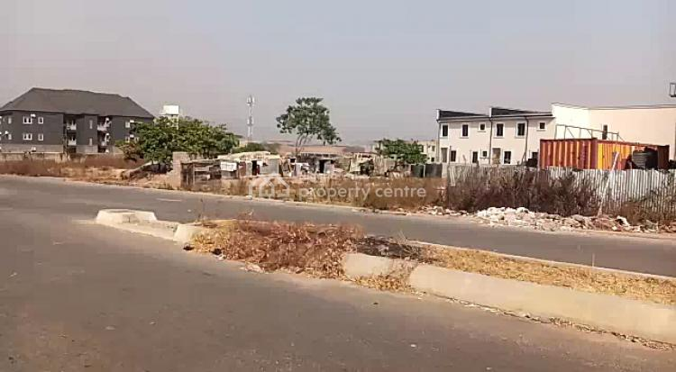 a Fenced Corner Piece Residential Plot Measuring 789sqm on Tarred Road, By Naval Quarters, Jahi, Abuja, Residential Land for Sale