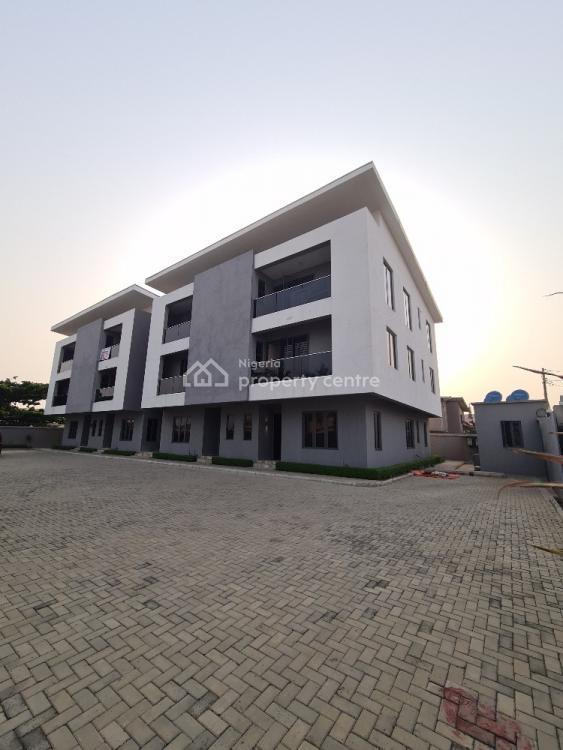 Luxury 3 Bedroom Mansionette in a Gated Estate, Atlantic View Estate, Igbo Efon, Lekki, Lagos, Terraced Duplex for Sale