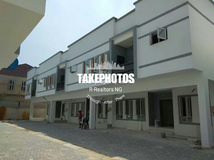 Fully Serviced 4 Bedroom Terrace Duplex, Orchid Hotel Road, Lekki Expressway, Lekki, Lagos, Terraced Duplex for Rent