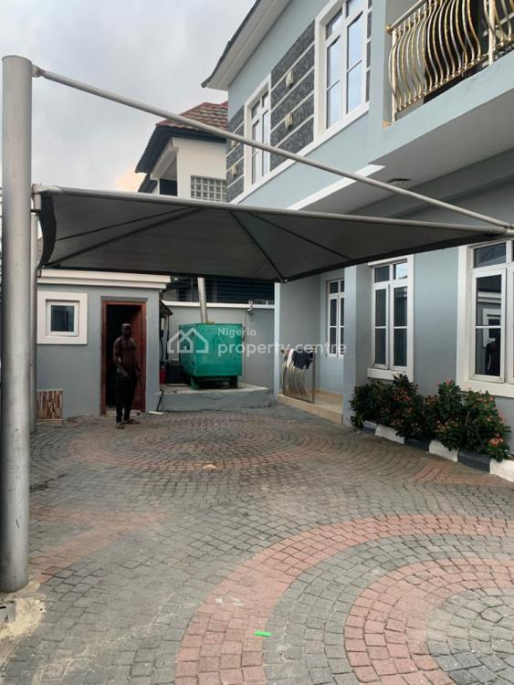5 Bedrooms Fully Detached Duplex with a Room Bq, a/c and Generator, Chevron, Lekki Phase 2, Lekki, Lagos, Detached Duplex for Rent