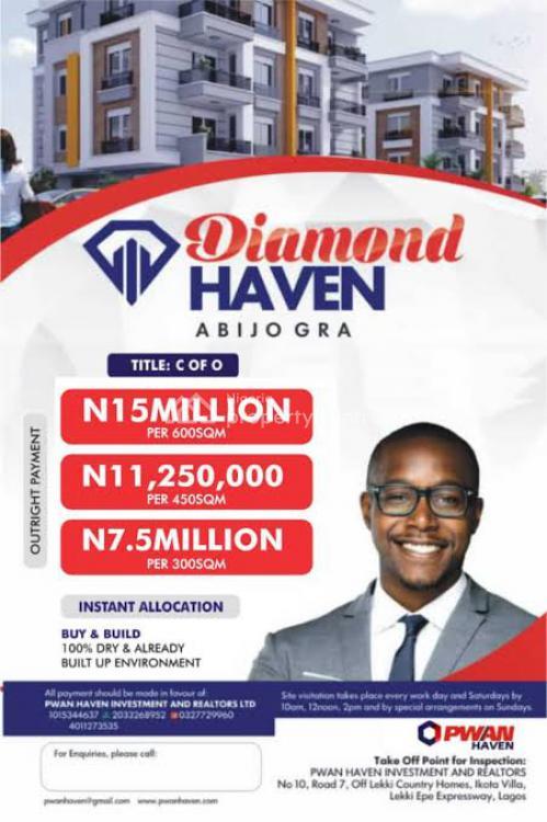 C of O, Diamond Haven, Abijo, Lekki, Lagos, Mixed-use Land for Sale