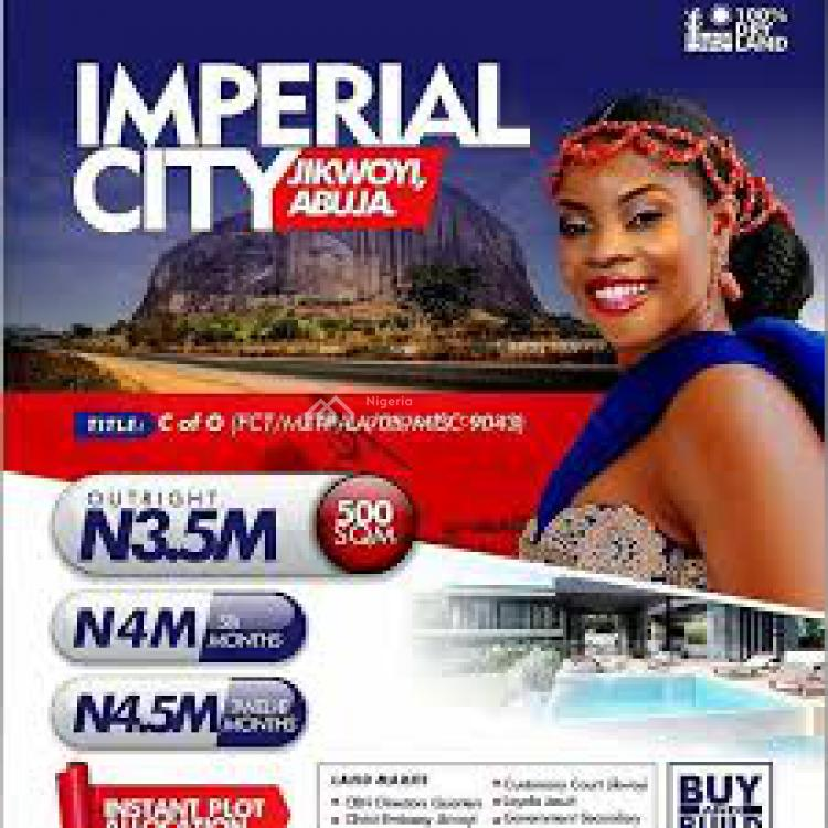 C of O, Imperial City, Nyanya, Abuja, Mixed-use Land for Sale