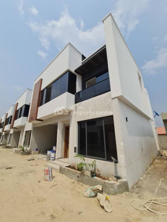 Luxury & Fully Serviced 4 Bedroom Terrace Duplex with a Room Bq, Osapa, Lekki, Lagos, Terraced Duplex for Sale